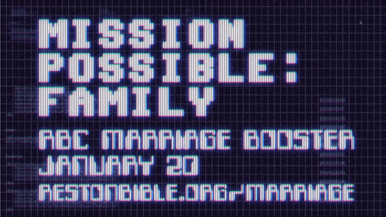 Mission Possible: Family
