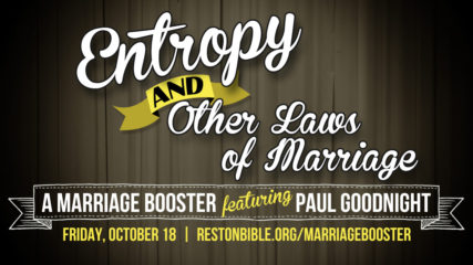 Entropy and Other Laws of Marriage