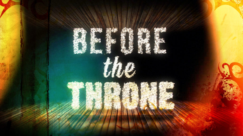 Before the Throne - title