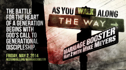 Marriage Booster: As You Walk Along the Way