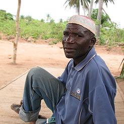 Sherife, a Mwinkan believer who worked to translate the Bible to his native language.