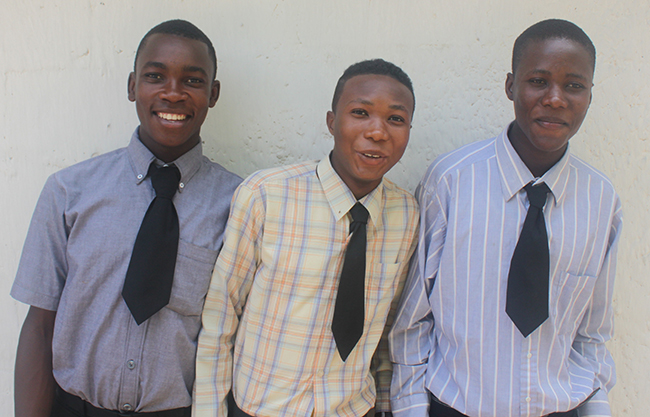 Son, Romane and Jerry are the 3 eldest boys at Pastor Francois' orphanage. The letter below is from them.