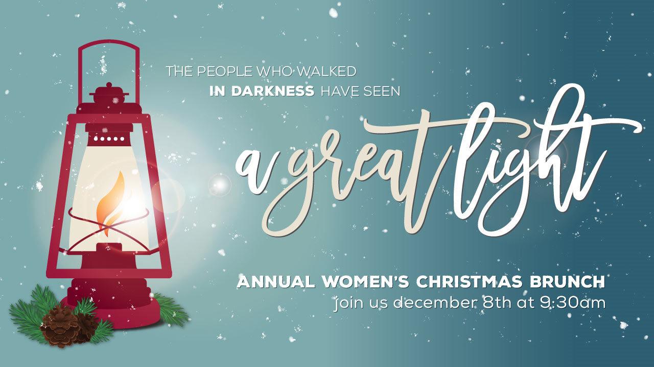 A Great Light (2018 Christmas Brunch)