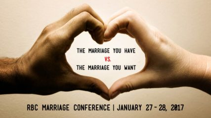 The Marriage You Have vs. The Marriage You Want: Session 1