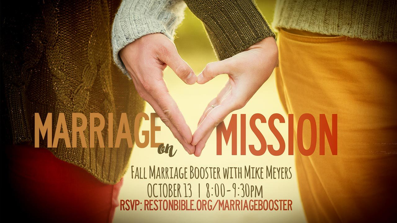 Marriage Booster: Marriage on Mission
