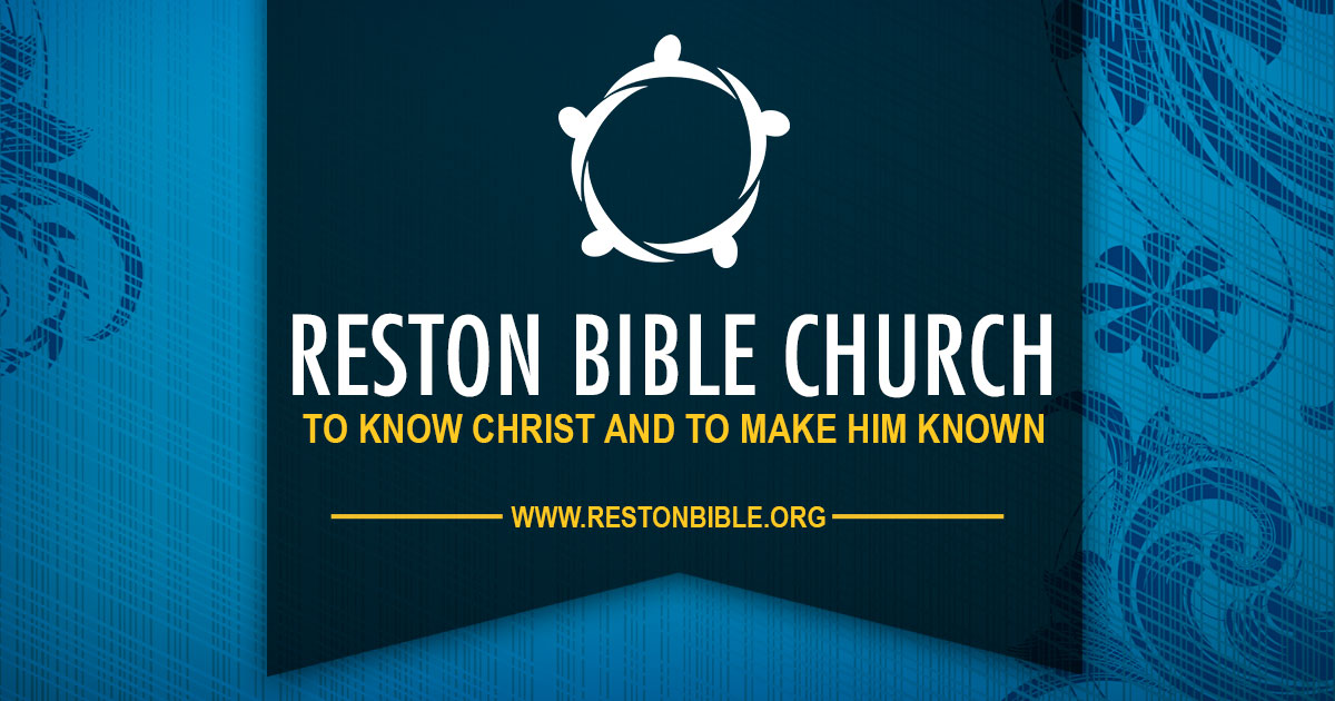 Home | Reston Bible Church