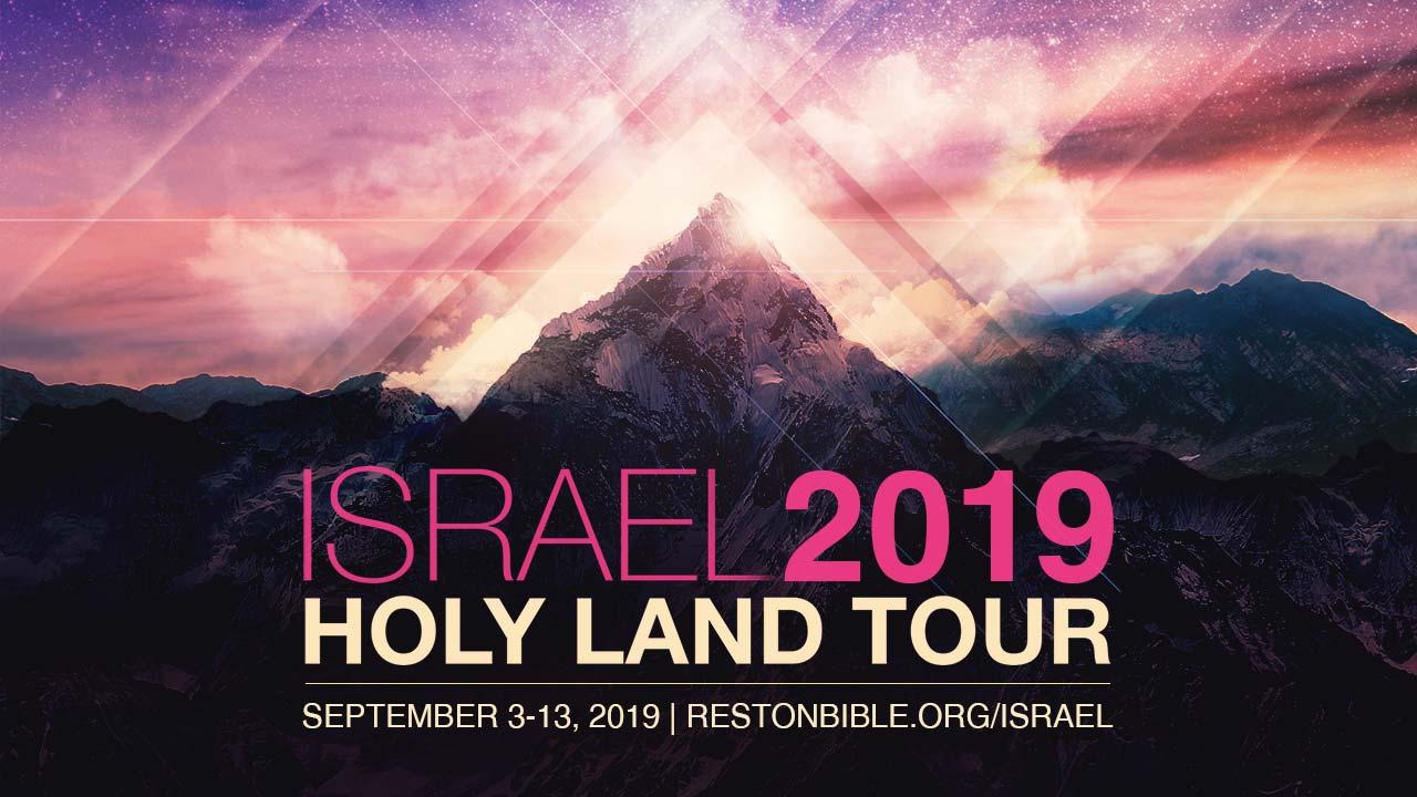 Israel Holy Land Tour Reston Bible Church
