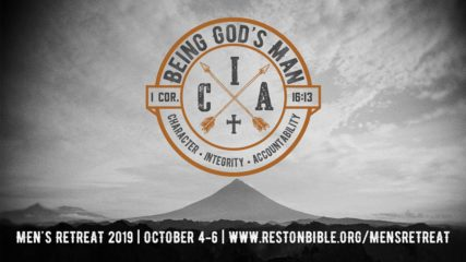 Being God's Man: Men's Retreat 2019, Session 4