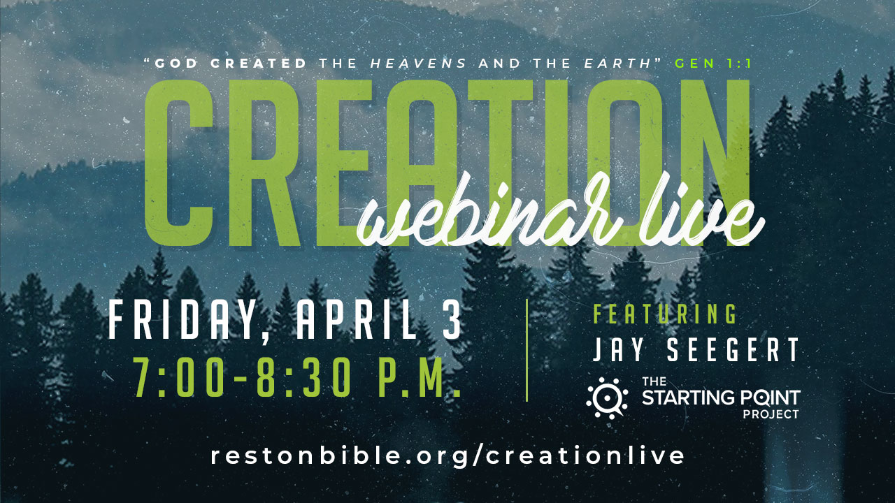 Creation Webinar with Jay Seegert