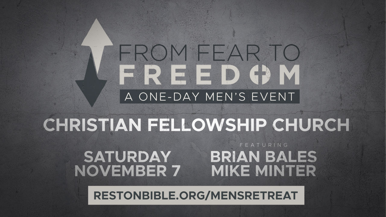 From Fear to Freedom, Session 3: Finding Redemption